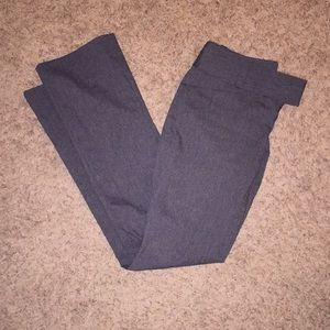 The Limited exact stretch charcoal grey slacks